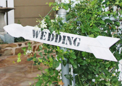 Sign-#2---Wedding-Arrow